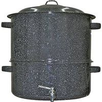 STEAMER COVERED W/FAUCET 19QT