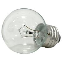 Decorative Light Bulb with Medium Base, 25W Clear
