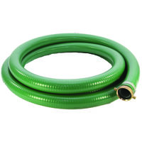 "PVC Suction Hose 2"" x 20', QC x STRNR"