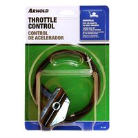 "Arnold SL-305 Throttle Control Knob With 48"" Black Plastic Cable"