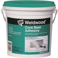 Dap 25054 Weldwood Cove Base Adhesive