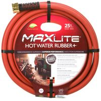 HOSE RUBBER HOT WATER 5/8X25FT