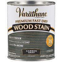 STAIN WOOD INT CARBON GRAY 1/2