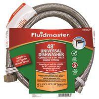 Fluidmaster 1W48CU Braided Dishwasher Connector