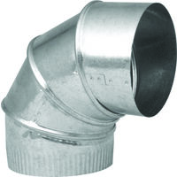 Galvanized Adjustable Elbows, 3""