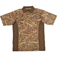 Camouflage Golf Shirt, Medium