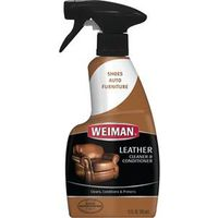 CLEANER LEATHER SPRAY 12OZ