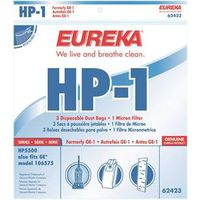 Eureka 62423 Style HP-1 Upright Vacuum Cleaner Bag