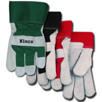 GLOVES GRY SUEDE THRML M