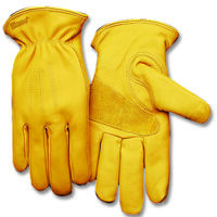 GLOVES LEATHER THERMAL XL