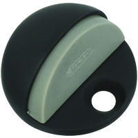 Low Rise Floor Door Stop, Satin Bronze