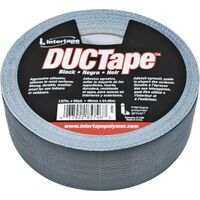 "Duct Tape, 1.87"" x 60 Yds Black"
