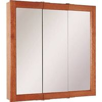 Foremost Diplomat CC-3030 3-Door Mirrored Tri-View Medicine Cabinet