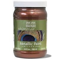 Modern Master Metallic Paint, 1 QtAntique Copper