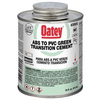 Oatey 30925 ABS/PVC Transition Cement