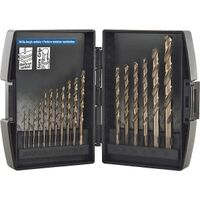 PVB Cobalt Drill Bit Set, 17 Pc