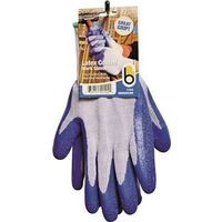Latex Coated Work Gloves, Medium