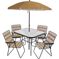 Lava Patio Set, 6 Pc