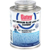 Oatey 32161 Hot Blue Lava PVC Cement