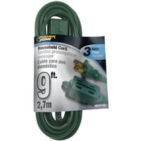 Extension Cord, 16/2 SPT x 9'