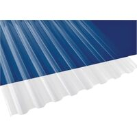 Polycarbonate Panel Clear, 12' x 26""