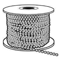 #10 Nickel Plated Bead Chain 100'