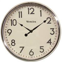 Westclox Extra-Thick Retro Wall Clock