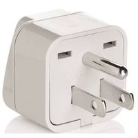 Travel Smart NWG3C Grounded Adapter Plug