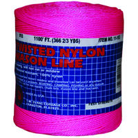 Twisted Nylon Mason Line, #18 x 1088' Pink