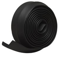 "Garage Door Bottom, 2 1/4"" x 9' Black"