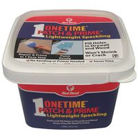 Red? Devil Onetime Patch & Prime Lightweight Spackling Compound