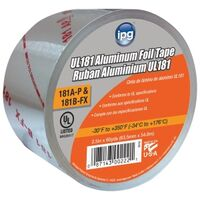 Aluminum Foil Tape, 2 1/2&quot; x 60 Yds