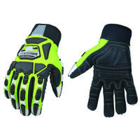 Performance Hi-Visibility Gloves, Lg