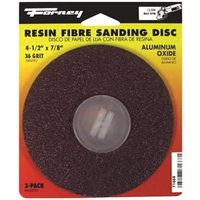 DISC SANDING A/O 36GRIT 4.5IN