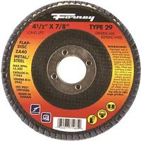 DISC FLAP TYPE27 36GRIT 4.5IN