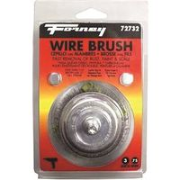 BRUSH CUP CRIMPD WIRE 3X.008IN