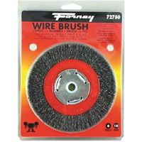 BRUSH WIRE WHEEL NRW 6X.012IN