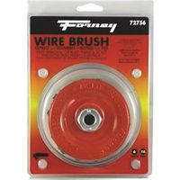 BRUSH CUP WIRE KNOT 6X.012IN