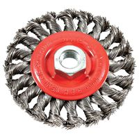 BRUSH WIRE WHEEL KNOT 4X.012IN