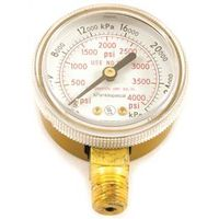 GAUGE OXYGEN  HP 0-4000 PSI