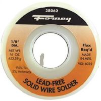 SOLDER 1/8IN 95TIN/5ANT 1 LB