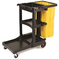 Rubbermaid FG617388BLA Janitorial Carts