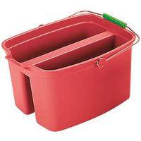 Rubbermaid FG262821RED Double Bucket With Wide Pour Spout