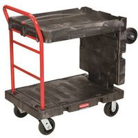 Rubbermaid FG449600BLA Convertible Platform Truck
