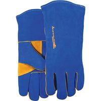 GLOVES WELDING HD BLUE MENS LR