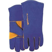 GLOVES WELDING HD BLUE MENS XL