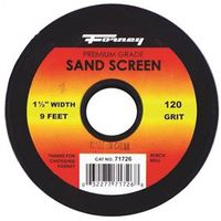 SAND SCREEN 120 GRIT 1-1/2X9FT