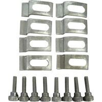 Screen & Storm Door Clips, Aluminum