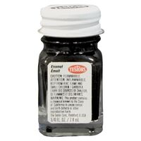 Hobby Model Enamel Paint, 1/4 oz Black