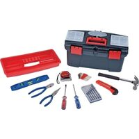 Tool Set with Tool Box, 22pc
